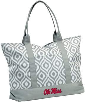 NCAA Logo Brand Ole Miss Rebels Ikat Tote