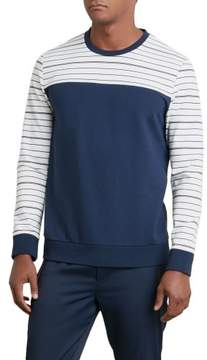 Kenneth Cole New York Reaction Kenneth Cole Pinstripe Blocked Shirt - Men's
