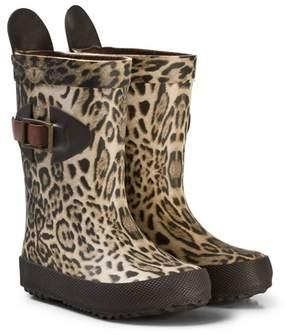 Bisgaard Scandinavian Rubber Boot Leopard