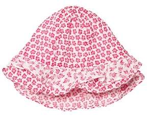 Absorba Fuchsia Floral Printed Hat