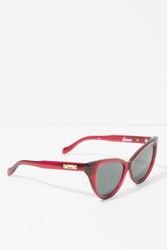 7 For All Mankind Kyoto Sunglasses In Crimson