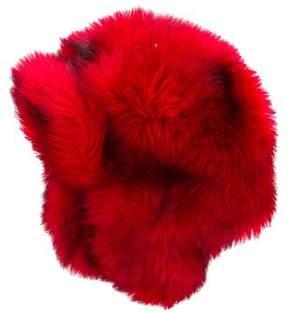 Little Marc Jacobs Girls' Faux Fur Trapper Hat