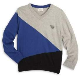 Armani Junior Little Boy's & Boy's V-Neck Pullover