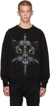 Marcelo Burlon County of Milan Black New Renaissance Yune Sweatshirt