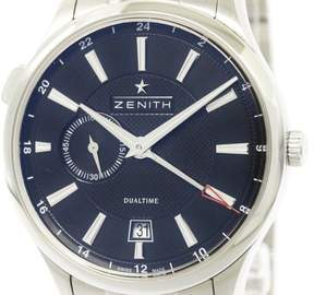 Zenith Captain 03.2130.682 Stainless Steel Automatic 40mm Mens Watch