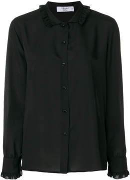Blugirl ruched collar shirt