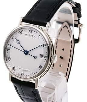 Breguet Classique Silver Dial 18K White Gold Automatic Ladies Watch 9067BB12976