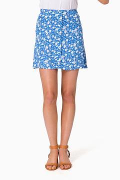 Capulet Petite Floral Georgia Mini Skirt