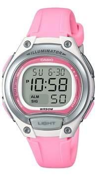 Casio Ladies Easy Reader Digital Watch, Pink