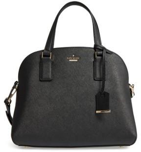 Kate Spade Cameron Street - Lottie Leather Satchel - Black - BLACK - STYLE