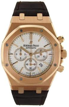 Audemars Piguet Royal Oak Chronograph with Brown Leather Strap