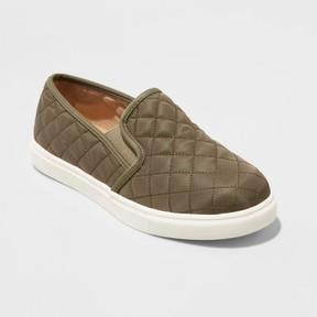 Mossimo Women's Reese Wide Width Nylon Slip On Sneakers