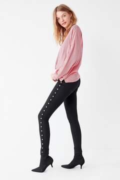 BDG Twig High-Rise Skinny Jean – Black Grommet