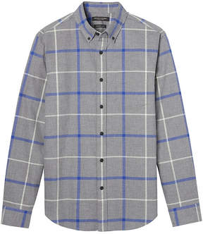 Banana Republic Grant Slim-Fit Plaid Flannel Button-Down Shirt