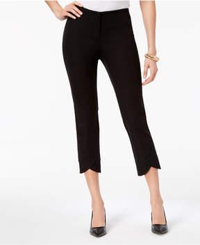 Alfani Bi-Stretch Hollywood Tulip-Hem Ankle Pants, Created for Macy's
