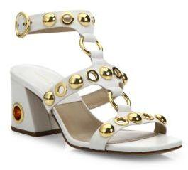Michael Kors Kat Runway Leather Sandals