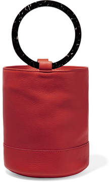 Simon Miller Bonsai 20 Nubuck Bucket Bag - Red