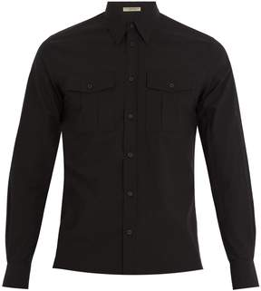 Bottega Veneta Single-cuff cotton-poplin shirt