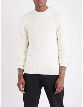 Joseph Aran-knit wool-blend jumper