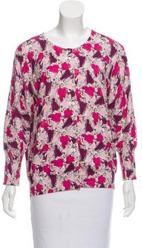 Escada Sport Patterned Button-Up Cardigan