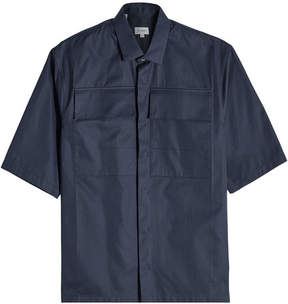 Jil Sander Short-Sleeved Cotton Shirt