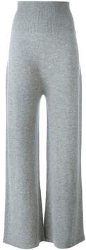 Agnona cashmere wide-leg trousers