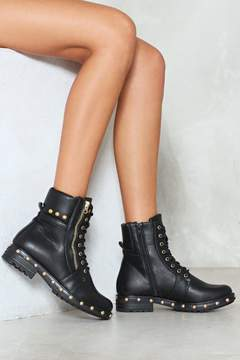 Nasty Gal Whatever Works For You Studded Boot