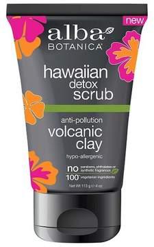 Alba Hawaiian Detox Scrub Volcanic Clay 4 oz