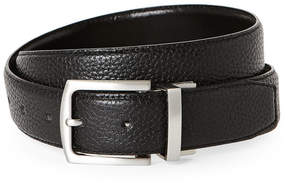 Cole Haan Feathered Edge Reversible Leather Belt