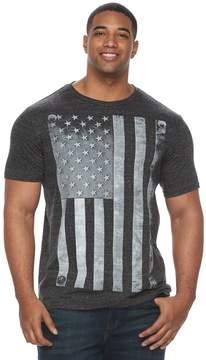 Apt. 9 Big & Tall Riveted American Flag Graphic Tee