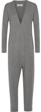 By Malene Birger Inoqa Wrap-Effect Wool And Cashmere-Blend Jumpsuit