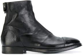 Alberto Fasciani back zip ankle boots