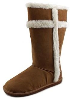 Rampage Winnie Open Toe Synthetic Wedge Sandal.