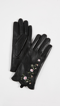 Club Monaco Vidita Leather Gloves