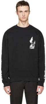 McQ Black Live Fast Die Clean Sweatshirt