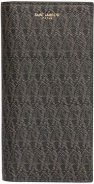 Saint Laurent Monogram Faux Leather Wallet