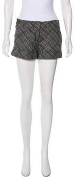 Cacharel Tweed Mini Shorts