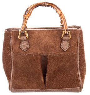 Gucci Vintage Bamboo Mini Bag - BROWN - STYLE