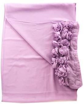 Twin-Set Women's Purple Polyester Scarf.
