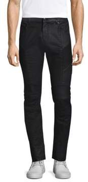 Pierre Balmain Coated Denim Jeans