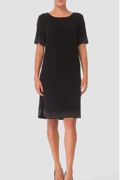 Joseph Ribkoff Sequin Trim Dress