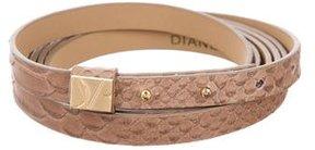 Diane von Furstenberg Hayley Wrap Belt w/ Tags