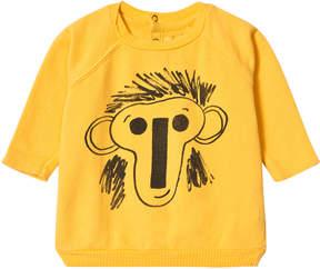 Bobo Choses Banana Yellow Jubilee Long Sleeve Sweatshirt
