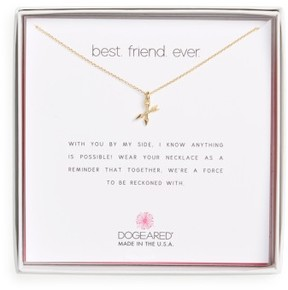 Dogeared Women's Best Friend Ever Pendant Necklace