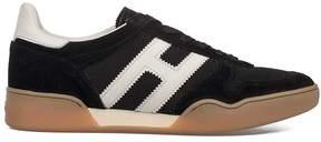 Hogan Black/white H357 Suede Sneakers