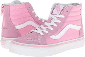 Vans Kids Sk8-Hi Zip Girls Shoes