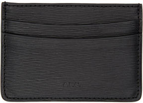 A.P.C. Black André Card Holder