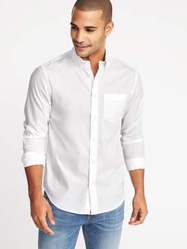 Old Navy Regular-Fit Clean-Slate Built-In Flex Classic Shirt for Men