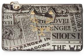Charlotte Olympia Women's Newspaper Coin Purse