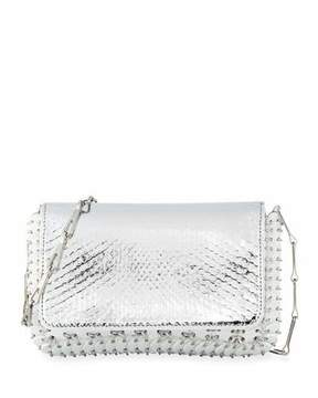 Paco Rabanne 1401 Classic Link Mini Python Shoulder Bag